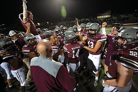 Defense leads CHS to championship